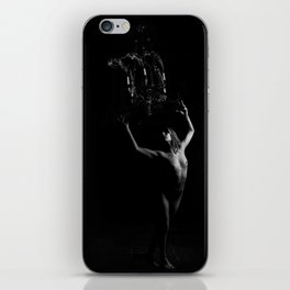 Candle mass iPhone Skin