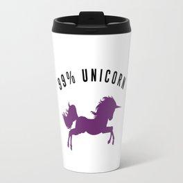 99% Unicorn Travel Mug