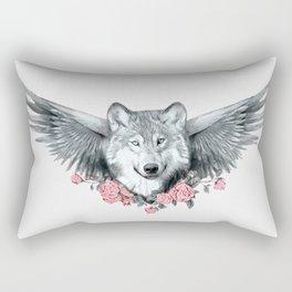 Wolf 3 Rectangular Pillow