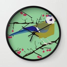 Blåveis Wall Clock