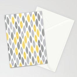 Primrose Leaves Stationery Cards