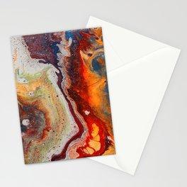 Fiery closeup Stationery Cards
