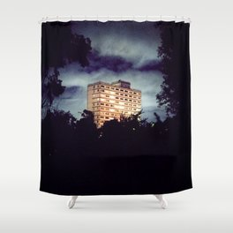 Flats Shower Curtain