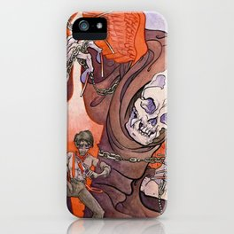 The Razor's Edge iPhone Case