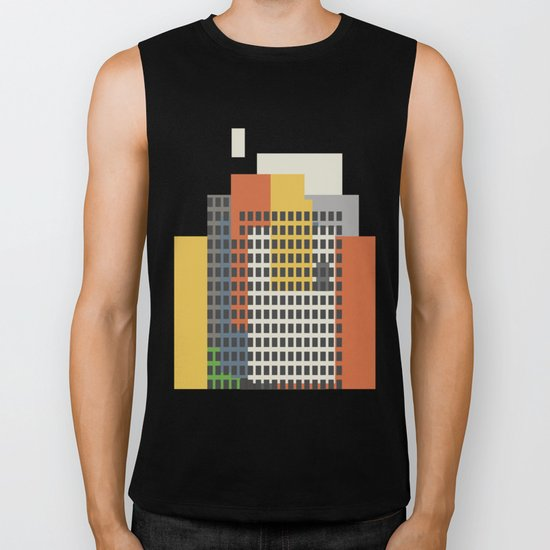 architecture and morality Biker Tank