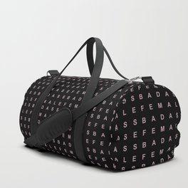 BADASS FEMALE Duffle Bag