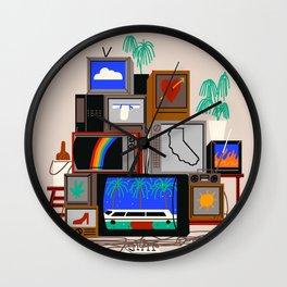 I <3 LA Wall Clock