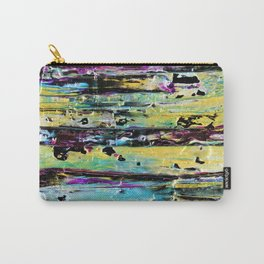Metallic Abstract Art Carry-All Pouch