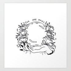 ⭐ you are magic ⭐ Art Print