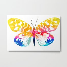 Super color butterfly Metal Print