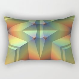 Artful Geometry Rectangular Pillow