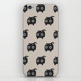 Cat Loaf - Black Kitty iPhone Skin