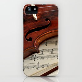 Old violin iPhone Case