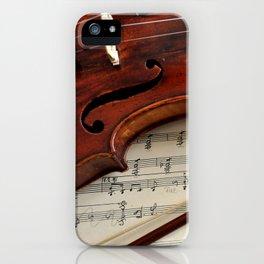 Old violin iPhone Case