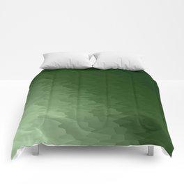 Green Ombre Comforters