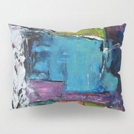 TETRIS, Abstract  Acrylic Painting, colorful mosaic Pillow Sham