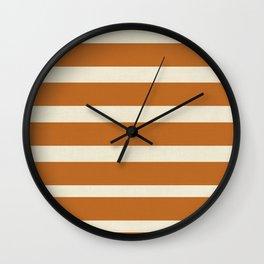 Spiced Autumn Wall Clock