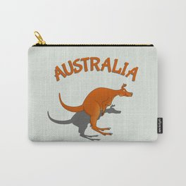 Kangaroo Australia Carry-All Pouch