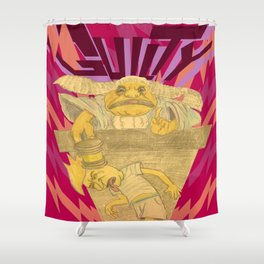 Until Proven Shower Curtain