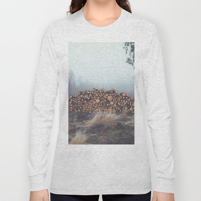 Firewood Long Sleeve T-shirt