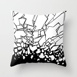 Broken II Throw Pillow
