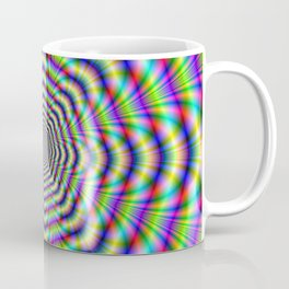 Psychedelic Octagon Pulse Coffee Mug