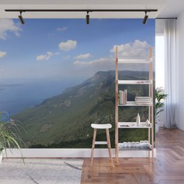 Climb Every Mountain With Wanderlust Wall Mural