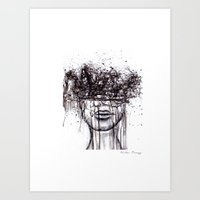 The Thought of You Art Print