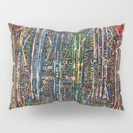 Awakening, people and words Pillow Sham