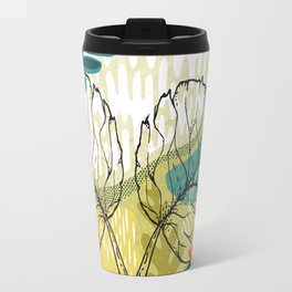 Colorful patchwork modern design Travel Mug