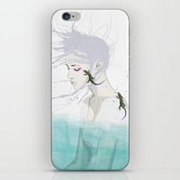 lizard iPhone & iPod Skins featuring Lizard by SEVENTRAPS