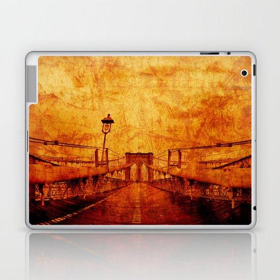 Brooklyn Burning Laptop & iPad Skin