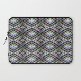 Bright symmetrical rhombus pattern Laptop Sleeve