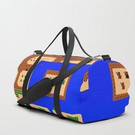 Pixel Adventure Duffle Bag