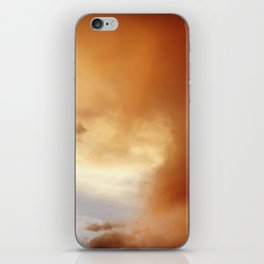 wildfire sunset iPhone Skin