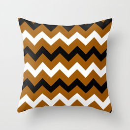 Western Chevron Throw Pillow