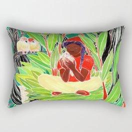 Bird woman Rectangular Pillow