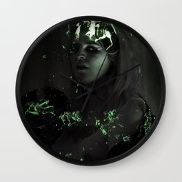 Relomia Crowned Prom Queen Wall Clock