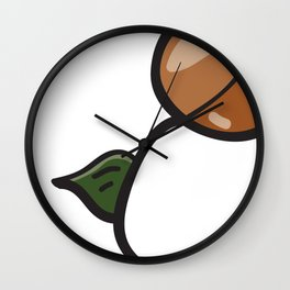 SEEDZ - PEA STASH Wall Clock