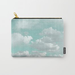Clouds in a Mint Sky Carry-All Pouch