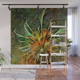 Abstract Fractal Wall Mural