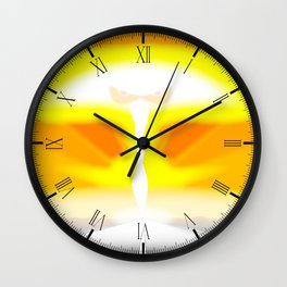 The End Of The Road Wall Clock