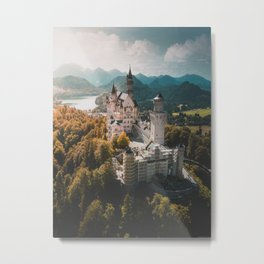 Magical Castle Metal Print