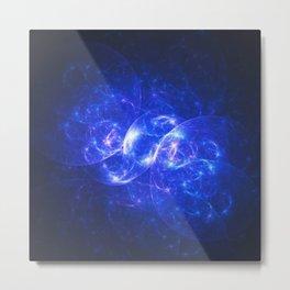 Midnight Nebula Metal Print