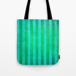 Stripes Collection: Mermaid Tote Bag