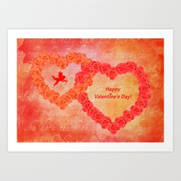 Who Loves You Art Print