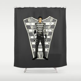 HIStory Promo Military March Jackson 2 Shower Curtain