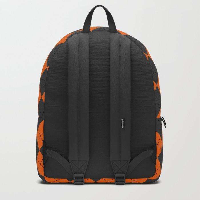 Argyle Halloween Backpack