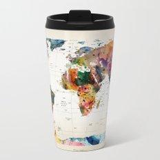 map Metal Travel Mug