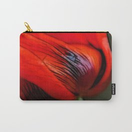 Poppy Day Carry-All Pouch